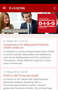 DiSG® - screenshot