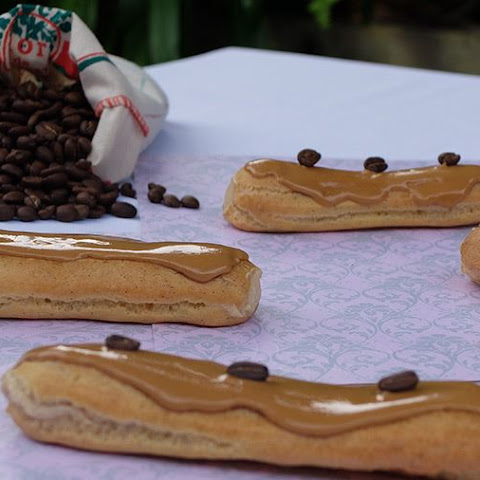 Miguel's Coffee Eclairs