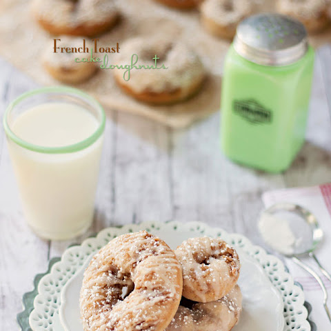 French Toast Cake Doughnuts