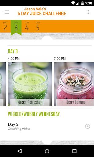 Jason's 5-Day Juice Challenge - screenshot
