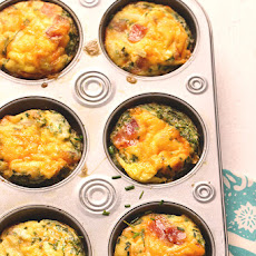 Cheesy Bacon & Chives Omelet Cups