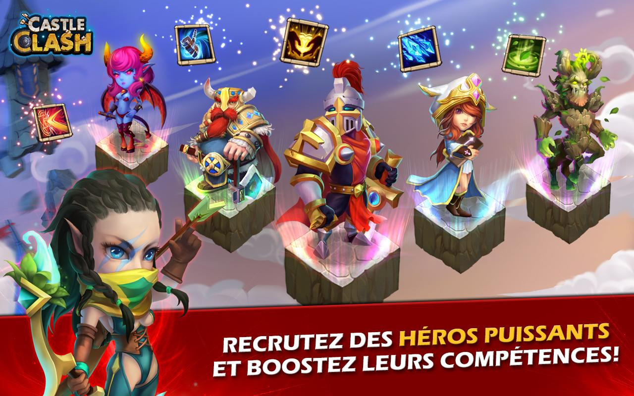 Castle Clash: Ère des Légendes Screenshot 2