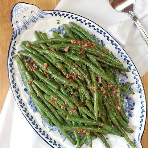 Honey Mustard Green Beans