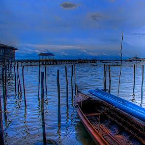 Blue Night ... by Ji Pan - Instagram & Mobile Instagram