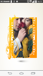 Yellow hoper Photo Frame - screenshot