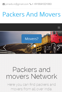 Packers Movers India - screenshot