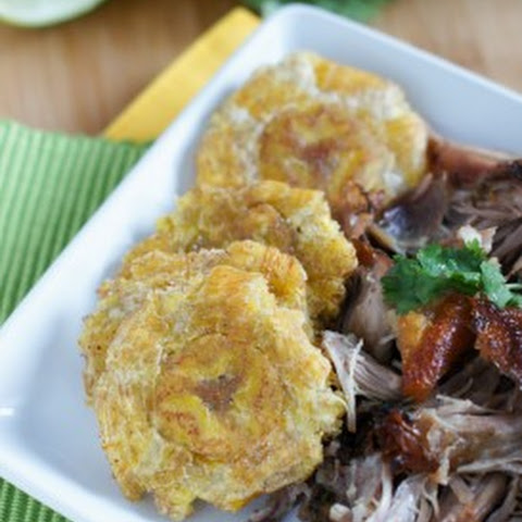 Tostones (Twice Fried Plantains)