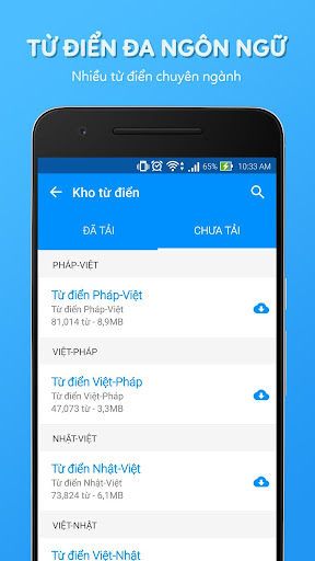 Tu Dien Anh Viet Laban screenshot 1