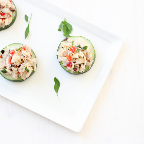 Greek Tuna Salad Bites