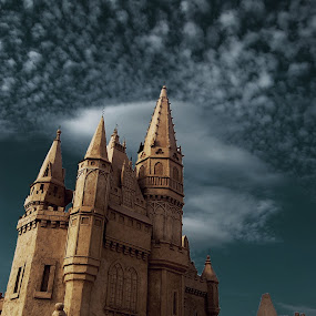 Sand Castle by Димитър Чобанов - Buildings & Architecture Statues & Monuments ( sand, building, castle, fest )