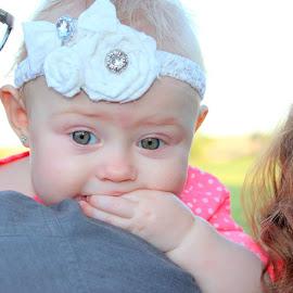Pretty Princess Arya! I love her unique eyes! by Angella Workman - Babies & Children Babies