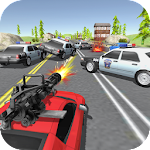 Police Chase - Car Shooting Game Icon