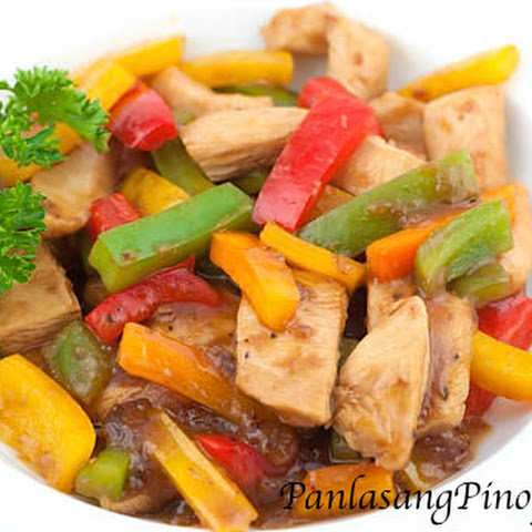 Chicken with Oyster Sauce Stir Fry
