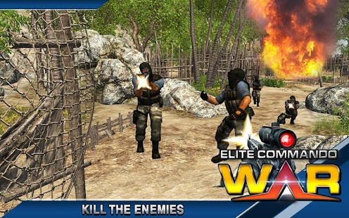 Game Elite Commando Perang