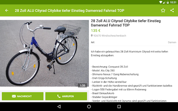 EBay Kleinanzeigen For Germany APK screenshot thumbnail 11