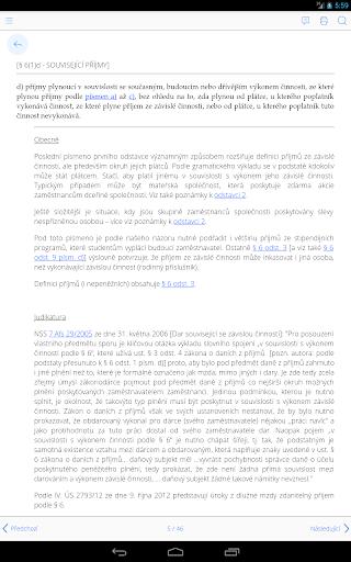 ITapek Daně - screenshot