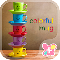 App Rainbow Mugs Theme APK for Kindle