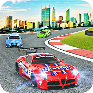 Fast Car Drive Car Racing Game Icon