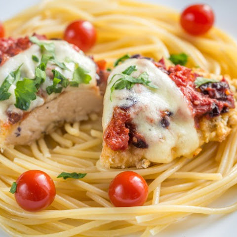 No-Fry Chicken Parmesan