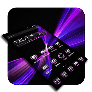 Tech Purple Business Simple