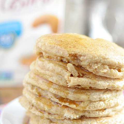 Soft & Fluffy Whole Wheat Pancakes