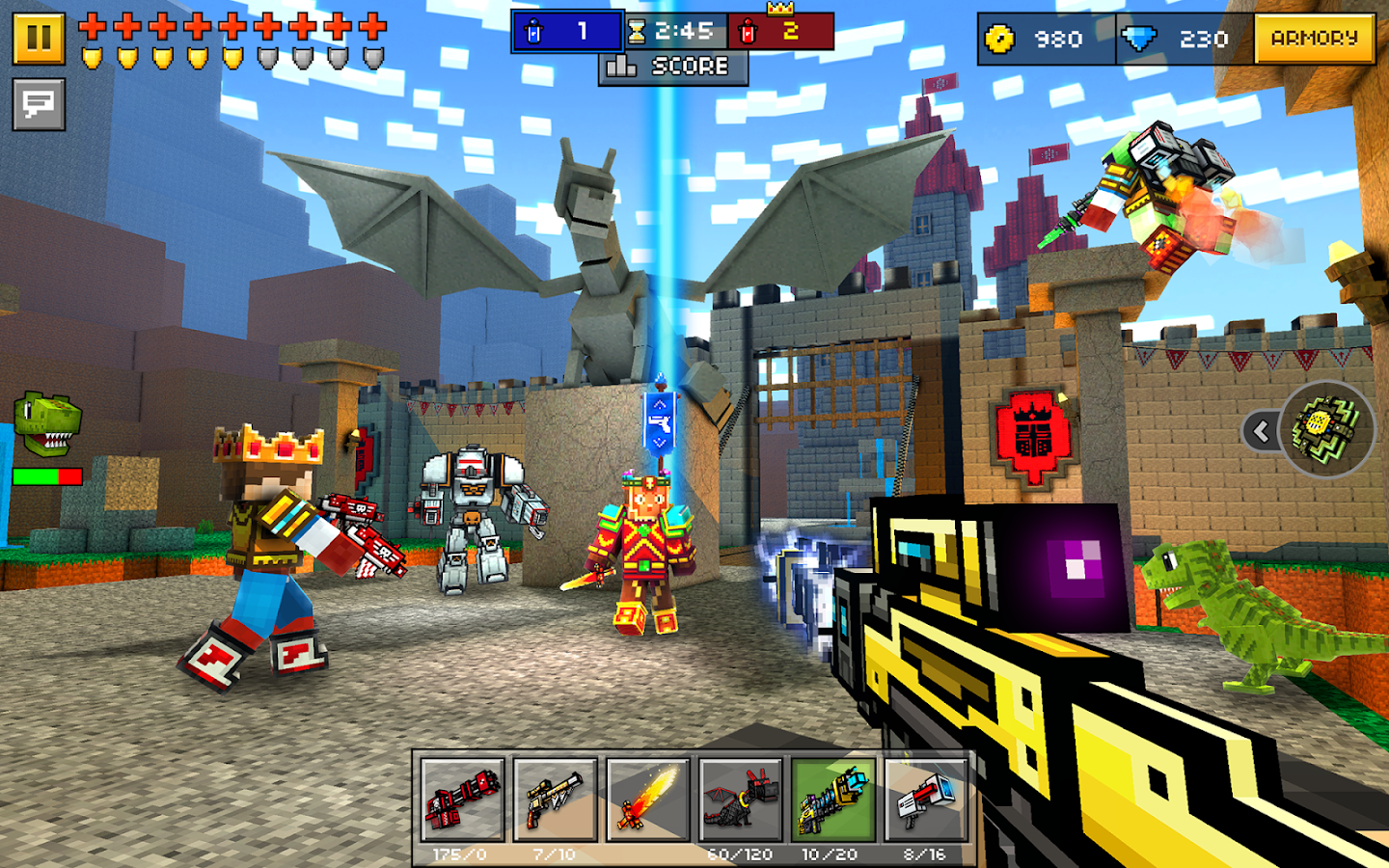 Pixel Gun 3D (Pocket Edition) Screenshot 11