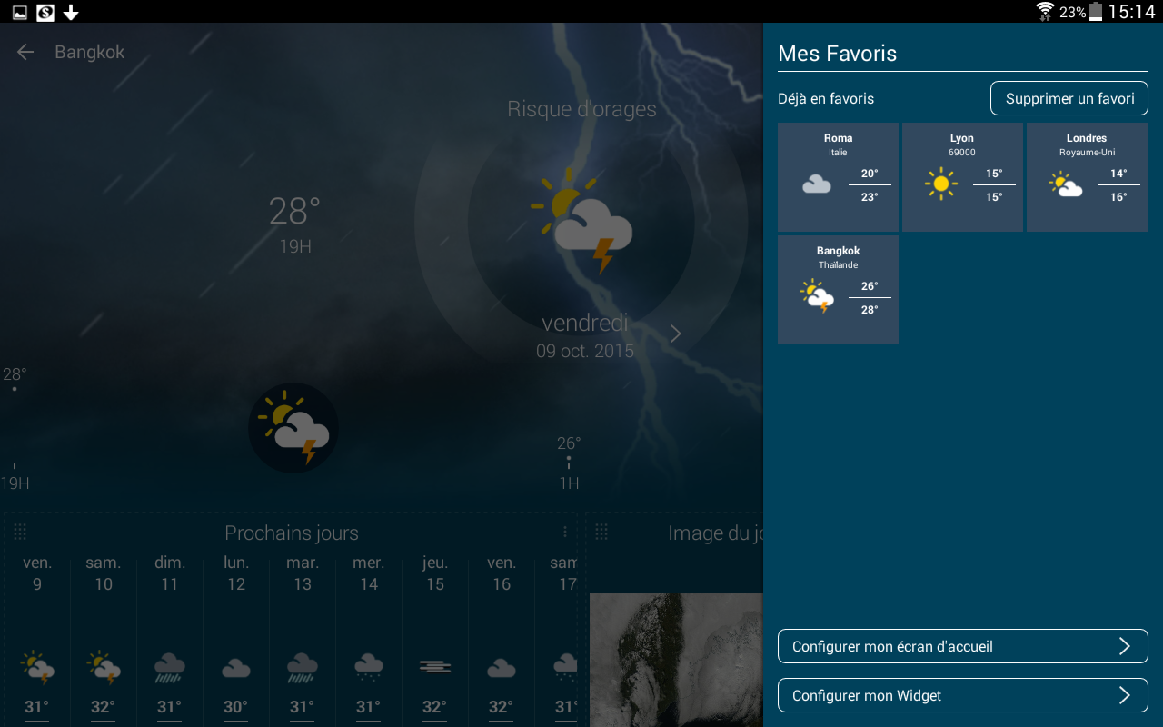 Météo-France Screenshot 13