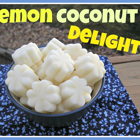 Lemon Coconut Delights