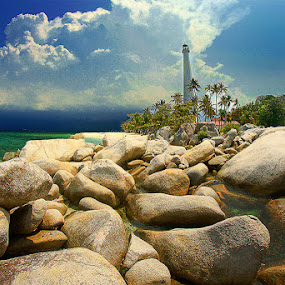 Masih Lengkuas by Eddie Cheever - Nature Up Close Rock & Stone ( belitong, landscapes, belitung )