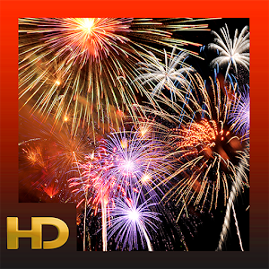 Cover art Dazzling Fireworks HD