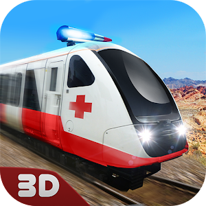 Download Ambulance Train Driving Sim 3D For PC Windows and Mac