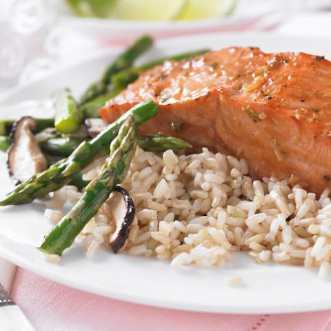 Microwave Salmon with Orange Sauce