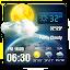 3D Live Weather Alert Widget