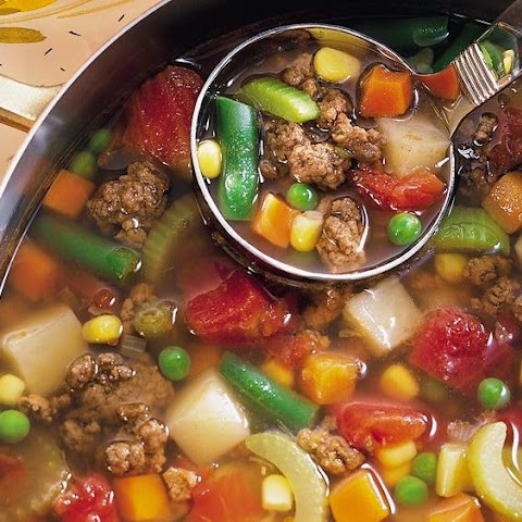 Hamburger Soup -- 3 Smartpoints