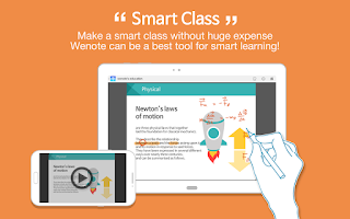 Screenshot of Wenote Smart