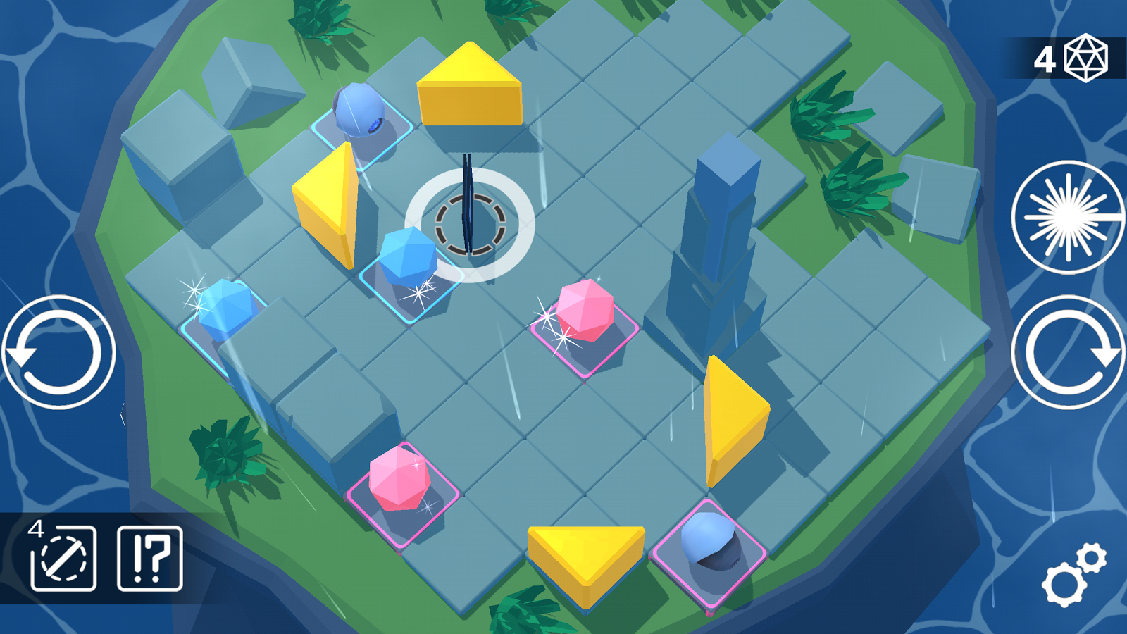 Laserix: Puzzle Islands Screenshot 1
