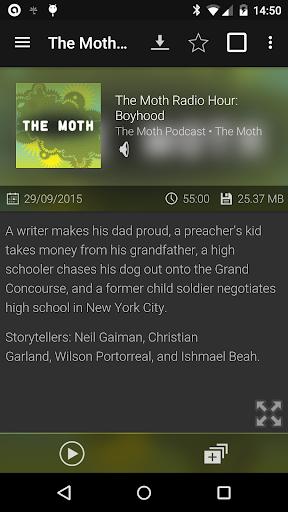 Podcast Addict - Donate screenshot 5