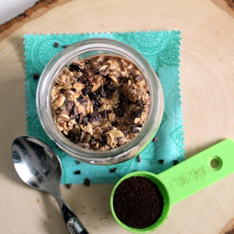 Chocolate Coffee Overnight Oats
