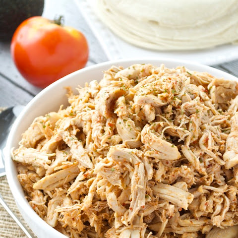 5 Ingredient Shredded Chipotle Chicken