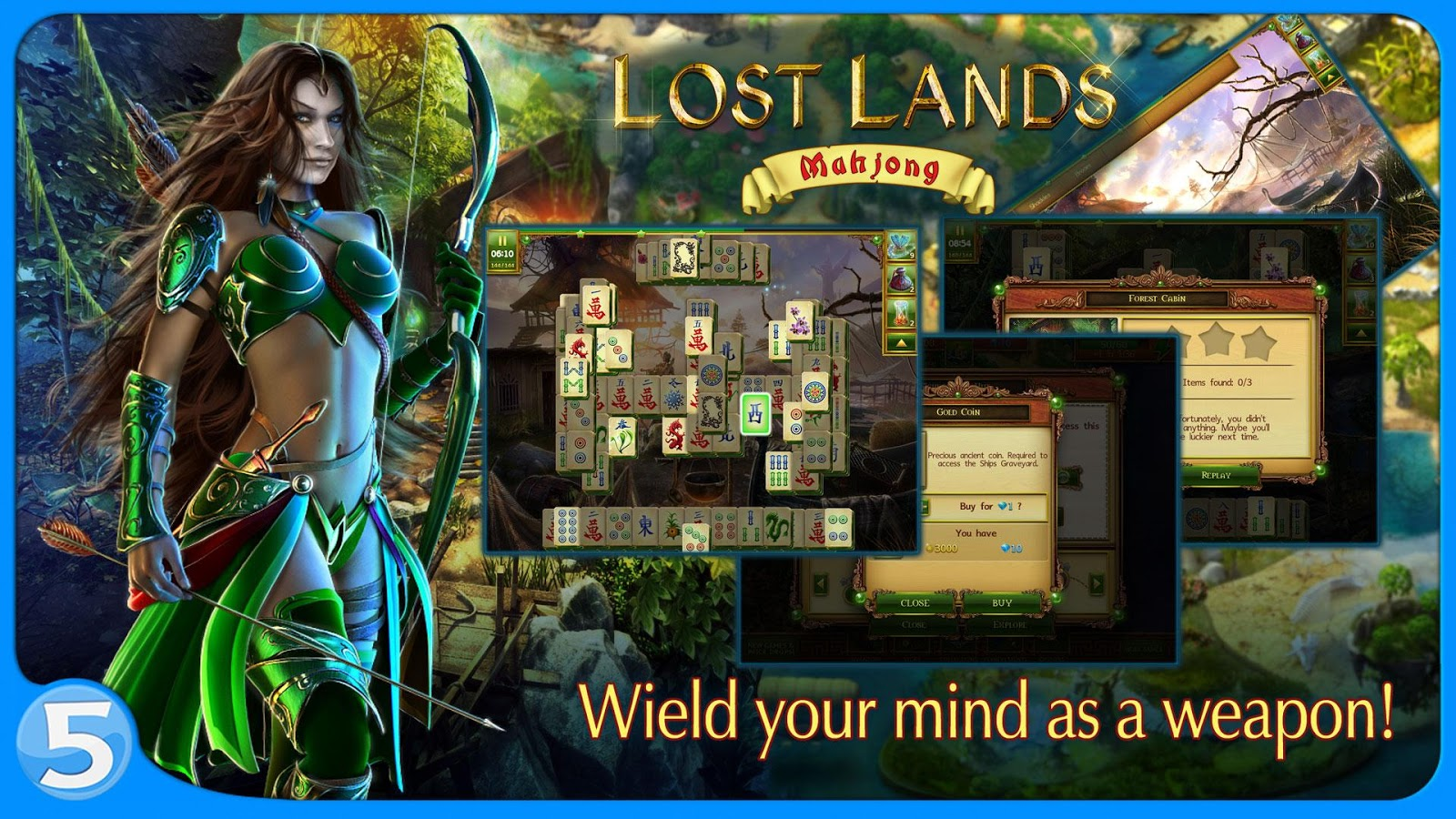 Lost Lands: Mahjong Premium Screenshot 4