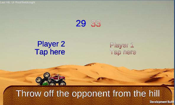 Monster truck tap war apk screenshot