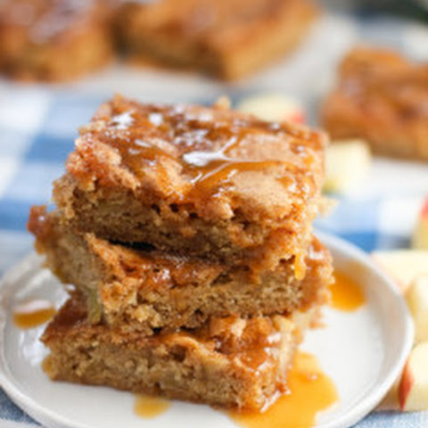 One-bowl Apple Bars