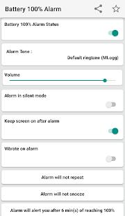 Battery 100% Alarm APK baixar