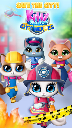Kitty Meow Meow City Heroes - Cats to the Rescue! For PC