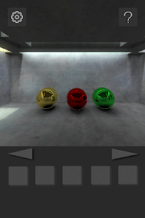 Escape from Concrete room 1 - screenshot