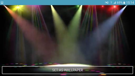 Music Stage Live Wallpaper - screenshot