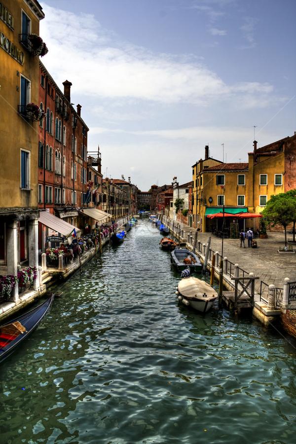 Venice by Bert Willers - City,  Street & Park  Street Scenes ( venice )