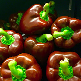 Chocolate Peppers! by Lope Piamonte Jr - Food & Drink Fruits & Vegetables