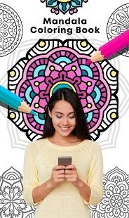 Mandala Coloring Book for pc