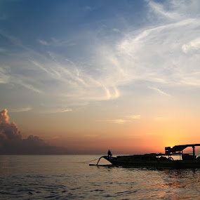 the silhouette by Bayu Sanjaya - Transportation Boats
